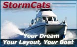StormCats Islay Catamaran and Monohull GRP Boat Builders