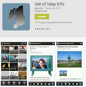 Islay Info Android App for Smartphones and Tablets