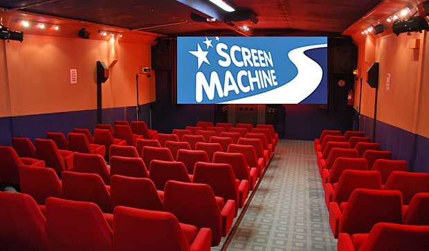 the screen machine