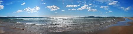 The Big Strand and Laggan  Bay