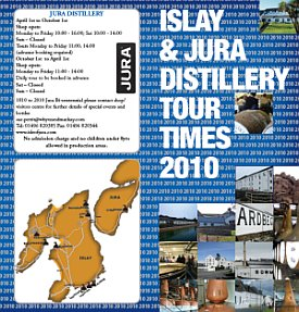 Distillery Tour Times