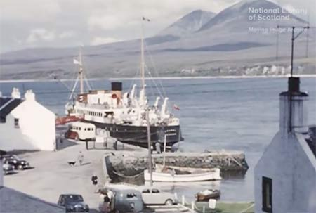 Islay Video 1960 Port Askaig Ferry