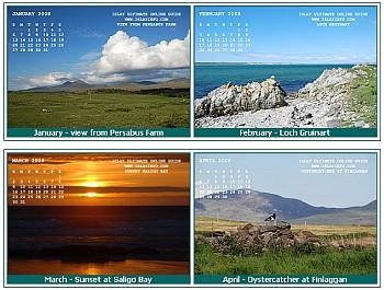 Islay Desktop Calendar 2008