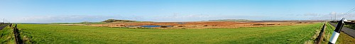 Kilchoman and Loch Gorm Panorama
