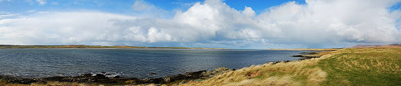 Loch Gruinart Panorama from Crois Mhor