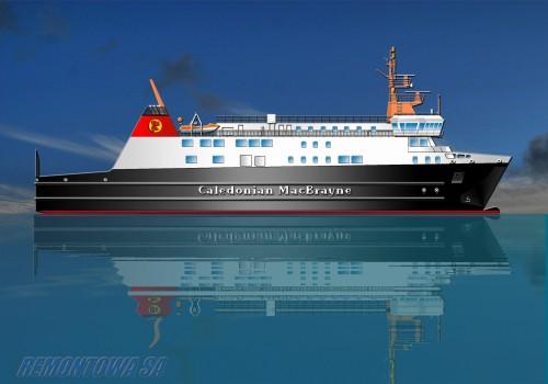 Artist Impression New Islay Ferry