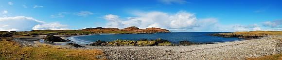 Sanaigmore Bay looking west