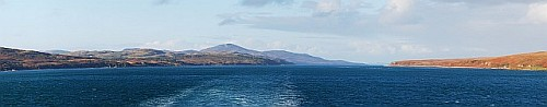 Sound of Islay from Calmac Ferry Panorama Picture