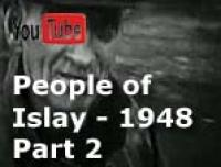 This is an extract from 8mm movie footage taken my father around 1948. The extract is from a 1¼-hour original film of Islay, Argyll, Scotland. The full film shows much of the villages of Port Wemyss and Portnahaven and it's people of that time as well as other parts of the island. This second of four extracts highlights scenes of people going about their daily lives -- the postman, the milkman, the farmer lad, men and horses working the fields, the lighthouse boatmen, fishermen and water collection from the local well (there was no plumbing in the houses back then).