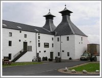 The main building of Ardbeg Distillery