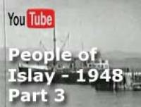 This is an extract from 8mm movie footage taken my father around 1948. The extract is from a 1¼-hour original film of Islay, Argyll, Scotland. The full film shows much of the villages of Port Wemyss and Portnahaven and it's people of that time as well as other parts of the island. This third of four extracts highlights scenes of people going about their daily lives -- the postman, the milkman, the farmer lad, men and horses working the fields, the lighthouse boatmen, fishermen and water collection from the local well (there was no plumbing in the houses back then).
